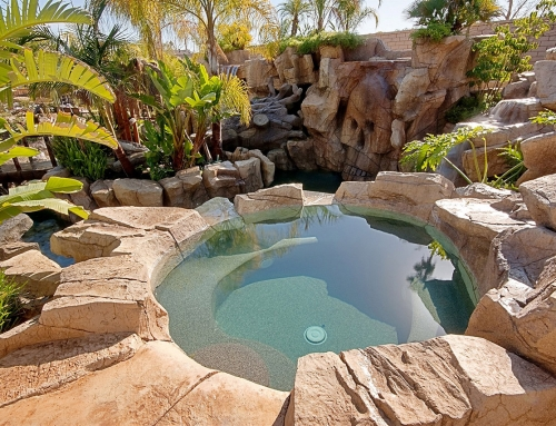Is It Time To Repaint My Pool, Rock Landscape or Concrete Deck?